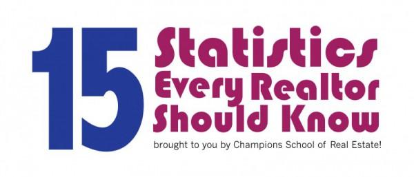 Realtor Tools: 15 Statistics Every Realtor Should know